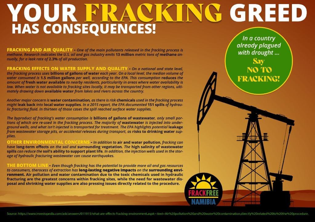 Your fracking greed