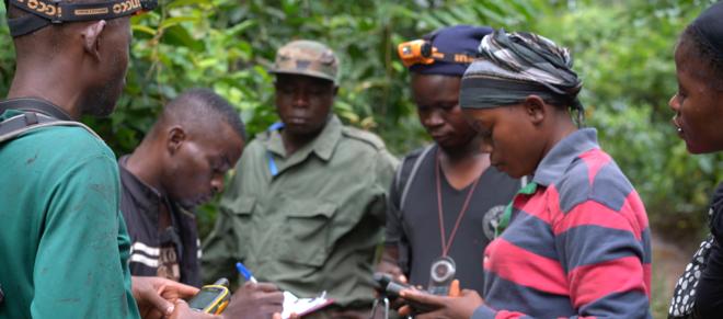 Weibliche Eco-Guards bewachen den Grebo-Krahn Nationalpark in Liberia