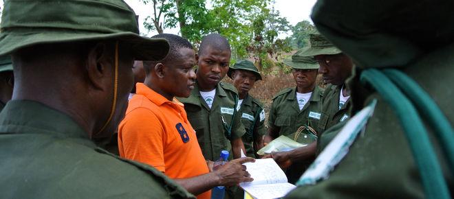 Martins Egot zusammen mit Eco-Guards