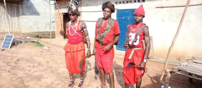 Traditionelle Häuptlinge in Lokutu / DRC