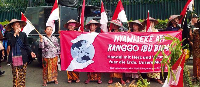 Demo vor der deutschen Botschaft