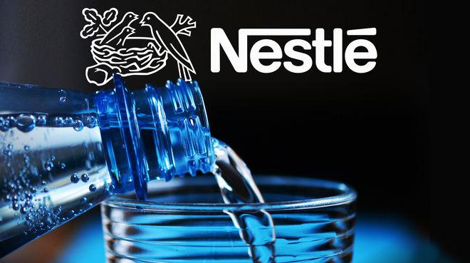 Wasser Flasche Close up