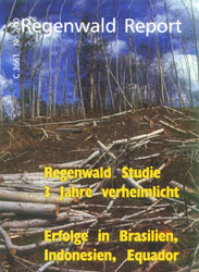 Cover RegenwaldReport 02/2000