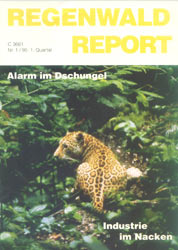 Cover RegenwaldReport 01/1995