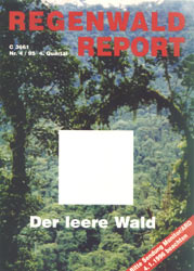Cover RegenwaldReport 04/1995