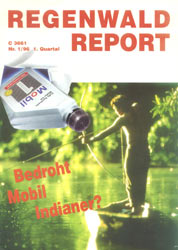 Cover RegenwaldReport 01/1996