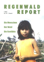 Cover RegenwaldReport 01/1997