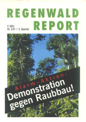 Cover RegenwaldReport 03/1997