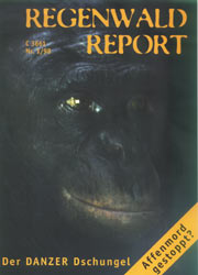 Cover RegenwaldReport 01/1998
