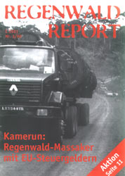 Cover RegenwaldReport 03/1998