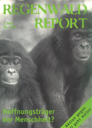 Cover RegenwaldReport 01/1999