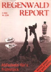 Cover RegenwaldReport 02/1999