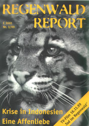 Cover RegenwaldReport 03/1999