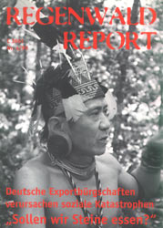 Cover RegenwaldReport 04/1999