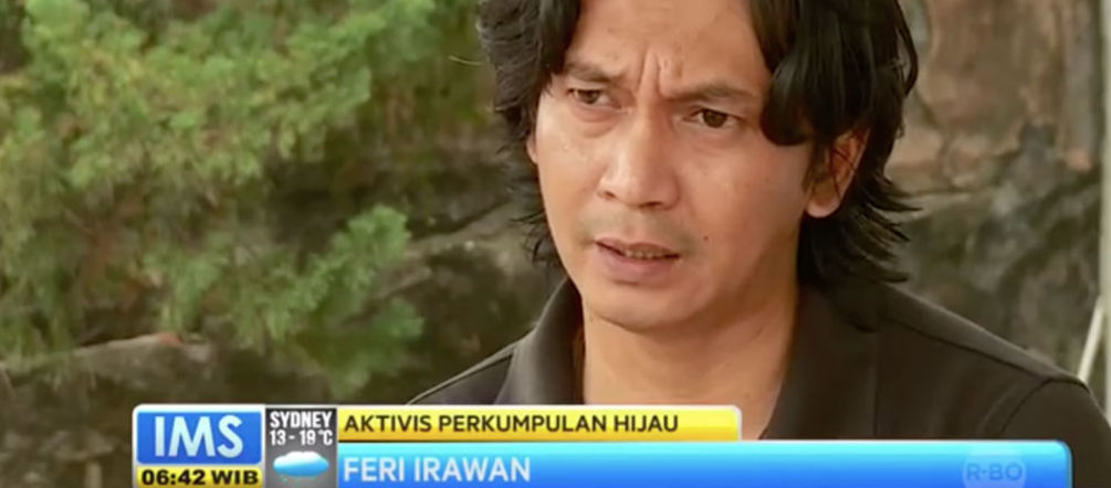 Interview mit Feri Irawan in der indonesischen Morning Show