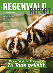 Cover Regenwald Report 02/2012