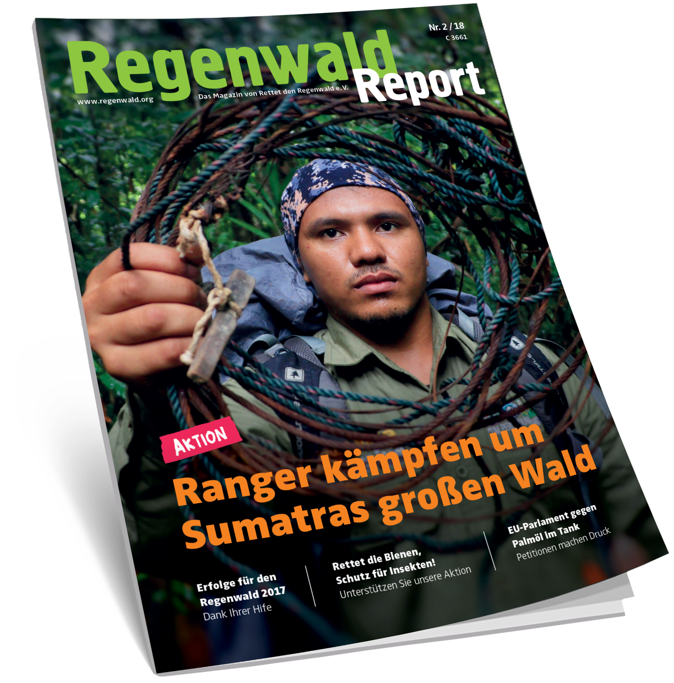 Cover Regenwald Report 02/2018