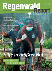 Cover Regenwald Report 01/2016
