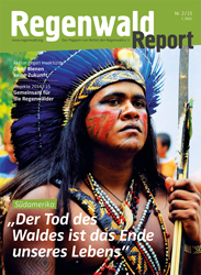 Cover Regenwald Report 02/2015