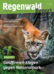 Cover Regenwald Report 02/2016