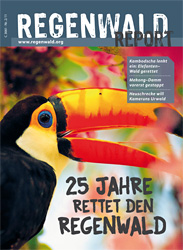 Cover Regenwald Report 02/2011