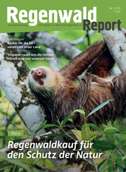 Cover Regenwald Report 03/2015