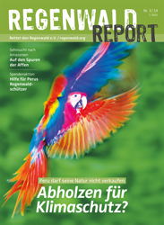 Cover Regenwald Report 03/2014