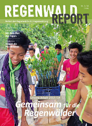 Cover Regenwald Report 02/2014