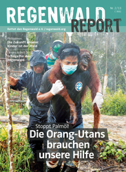 Cover Regenwald Report 02/2013