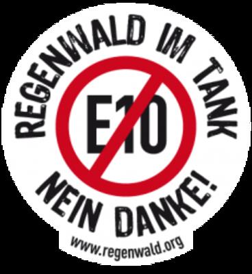 Der Regenwald Shop E10 Regenwald Im Tank Nein Danke